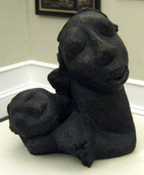 "Ben Macala ""Mother and Child"" one bronze in the SA National Gallery, Cape Town, collection (img © Micah MacAllen Flickr)"