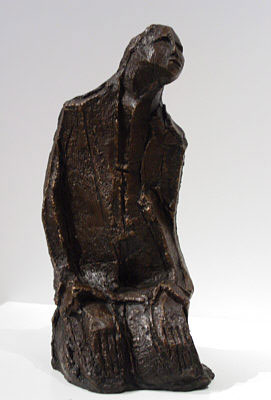 "Ben Macala ""Seated figure"" - bronze 1/3 - 31 cm - ex Coll. 34 Long Gallery, Cape Town"