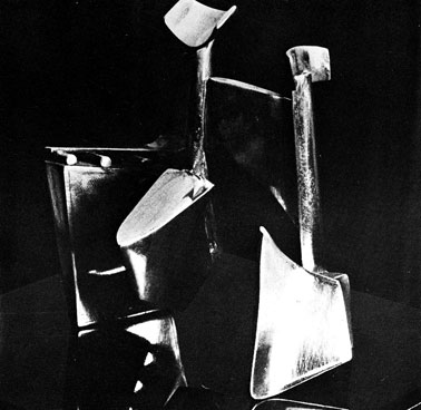 "JJ den Houting ""Flying Dutchman"", 1973 - work in silver - 10cm - Joint 1st prize in Open Category Thermal Weldart '73"