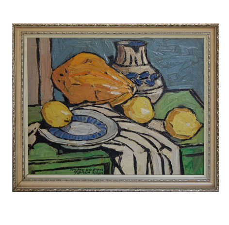 "John McLAREN ""Paw Paw and Lemons"" - signed: McLaren 6/13/42"