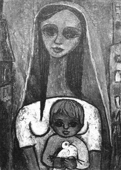 "Rose-Marie LACONTE ""Madonna"", 1962"