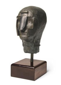 "Eddie Ladan ""The gladiator"", bronze 2/5 - 25cm H auctioned Welz Cape Town 26th May, 2009 Lot 346"