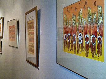 Daniel Miedzinski exhibition view II. at RCHCC Johannesburg October 2014