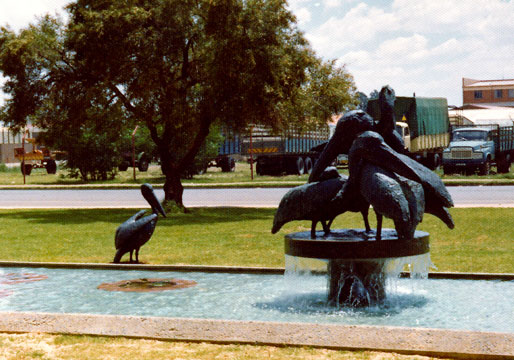 "Hennie POTGIETER ""Pelicans"" bronze group - Northern Johannesburg"