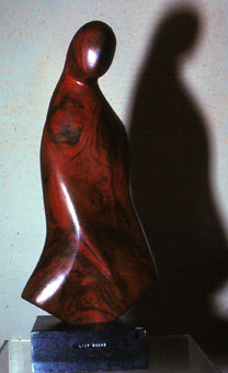 Lily SACHS - slide 02 - sculpture in wood pre-1966