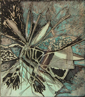 "Thelma WISE ""Insecte"", 1961 - etching - A/P II  (on auction iGavel Auctions, New York, 2014)"